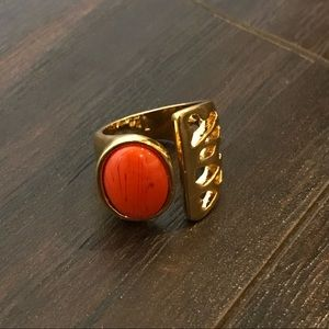 Diane Von Furstenberg Gold Plated Ring